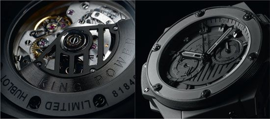 Hublot King Power All Black Replica Watch