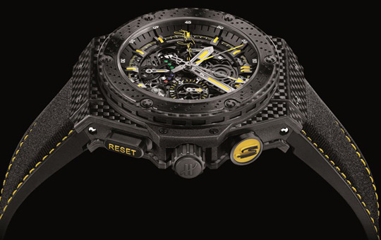 Hublot King Power Ayrton Senna Replica Watch