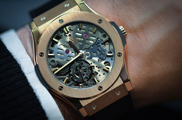Hublot Classic Fusion Skeleton Replica Watch